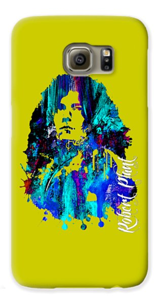 Led Zeppelin Galaxy S6 Case - Robert Plant Collection by Marvin Blaine