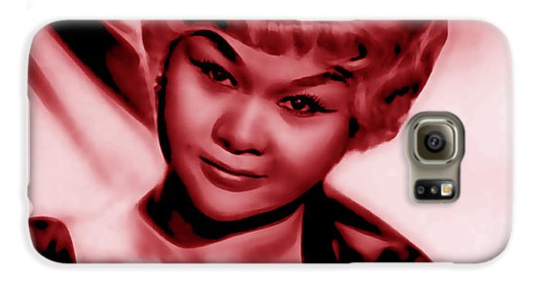 Etta James Collection Galaxy S6 Case by Marvin Blaine