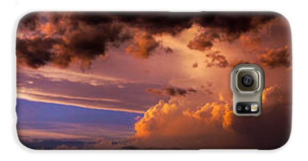 Nebraskasc Galaxy S6 Case - Nebraska Hp Supercell Sunset by NebraskaSC