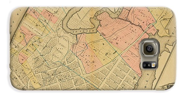 1879 Inwood Map  Galaxy S6 Case