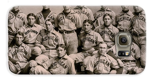 1896 Michigan Baseball Team Galaxy S6 Case
