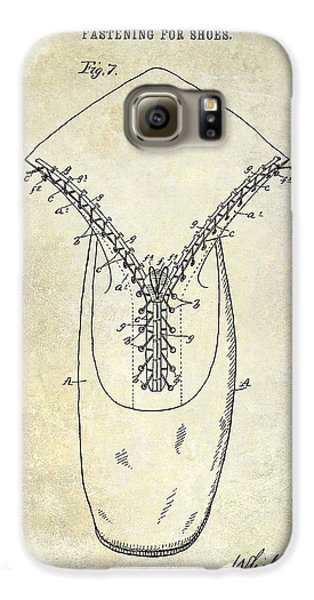1896 Shoe Patent  Galaxy S6 Case by Jon Neidert