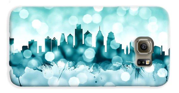Philadelphia Pennsylvania Skyline Galaxy S6 Case