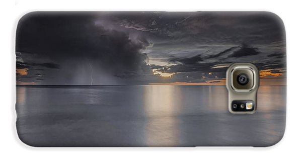 Sunst Over The Ocean Galaxy S6 Case