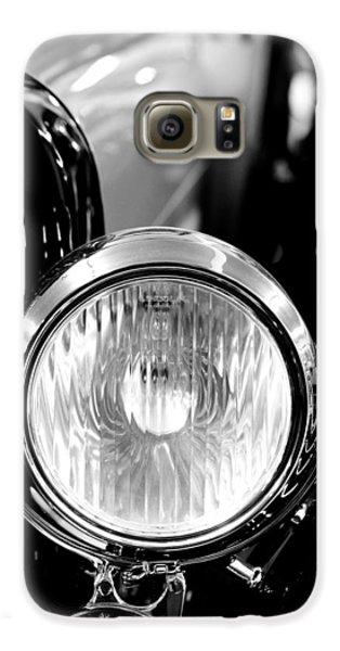 1925 Lincoln Town Car Headlight Galaxy S6 Case by Sebastian Musial