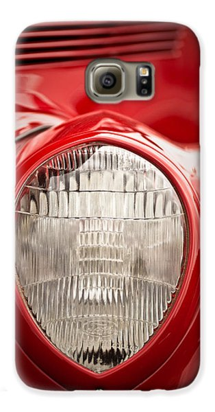 1937 Ford Headlight Detail Galaxy S6 Case by  Onyonet  Photo Studios