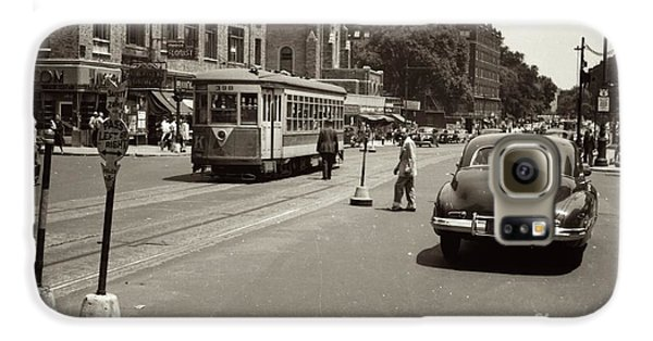 1940's Inwood Trolley Galaxy S6 Case by Cole Thompson