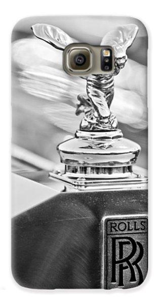 1952 Rolls-royce Silver Wraith Hood Ornament 2 Galaxy S6 Case