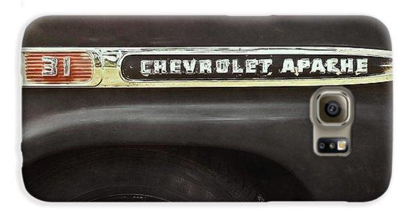 Truck Galaxy S6 Case - 1959 Chevy Apache by Scott Norris
