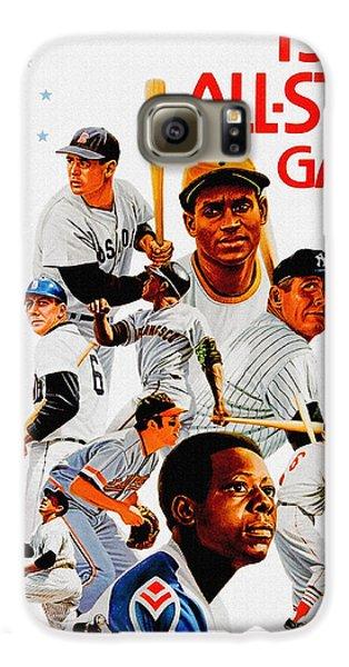 1974 Baseball All Star Game Program Galaxy S6 Case
