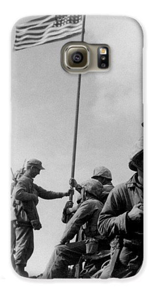 1st Flag Raising On Iwo Jima  Galaxy S6 Case