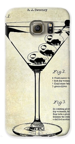 1897 Dirty Martini Patent Galaxy S6 Case