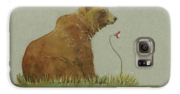 Alaskan Grizzly Bear Galaxy S6 Case
