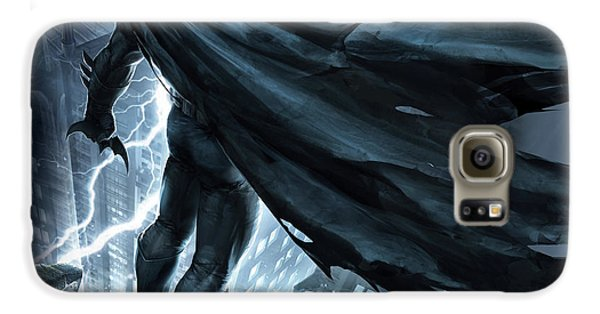 Knight Galaxy S6 Case - Batman The Dark Knight Returns 2012 by Geek N Rock
