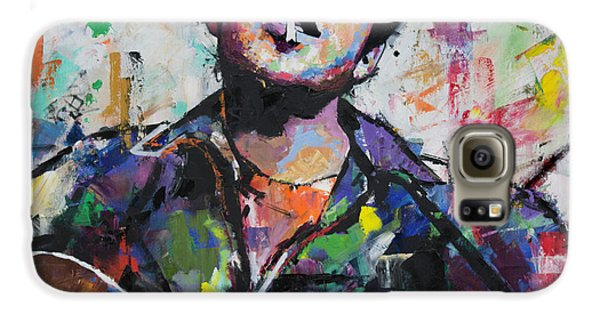 Bob Dylan Galaxy S6 Case by Richard Day