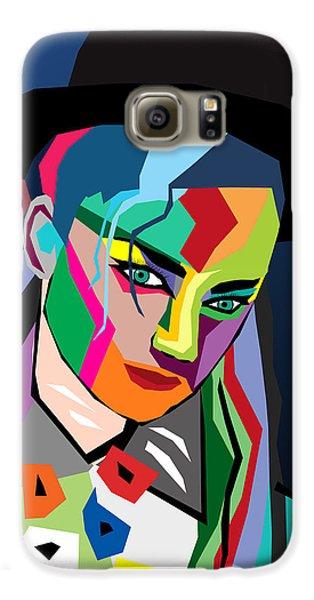 Boy George Galaxy S6 Case - boy George  by Mark Ashkenazi