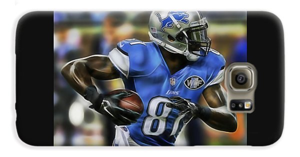 Calvin Johnson Collection Galaxy S6 Case by Marvin Blaine