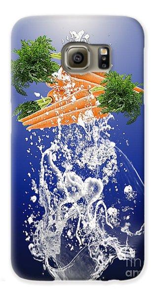 Carrot Splash Galaxy S6 Case