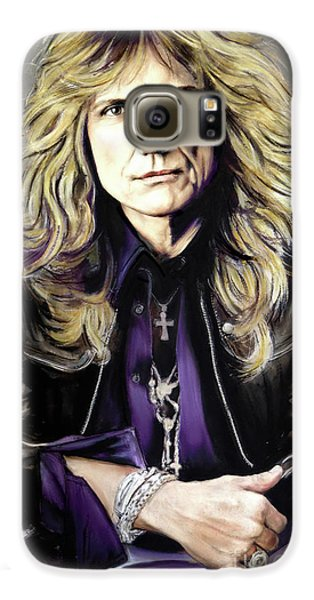 Jimmy Page Galaxy S6 Case - David Coverdale 1 by Melanie D