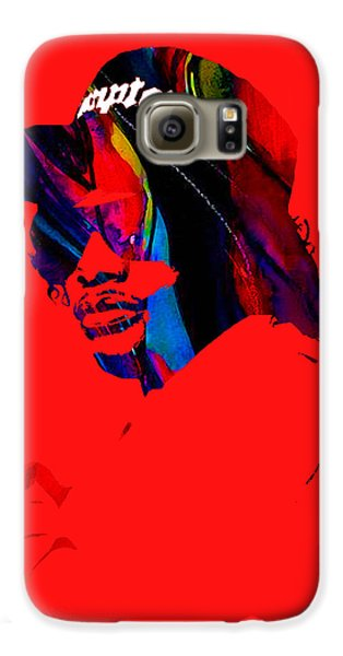 Eazy E Straight Outta Compton Galaxy S6 Case by Marvin Blaine