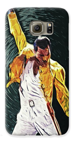Led Zeppelin Galaxy S6 Case - Freddie Mercury by Taylan Apukovska