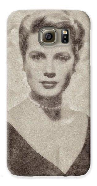 Grace Kelly, Actress And Princess Galaxy S6 Case by John Springfield