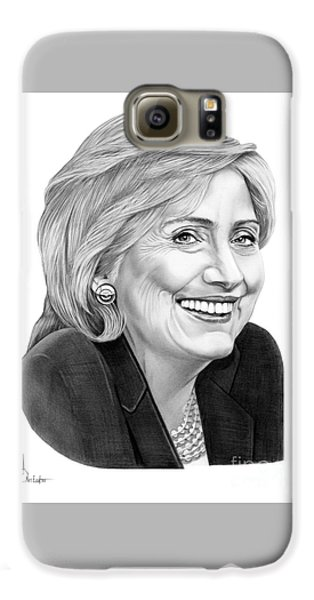 Hillary Clinton Galaxy S6 Case by Murphy Elliott