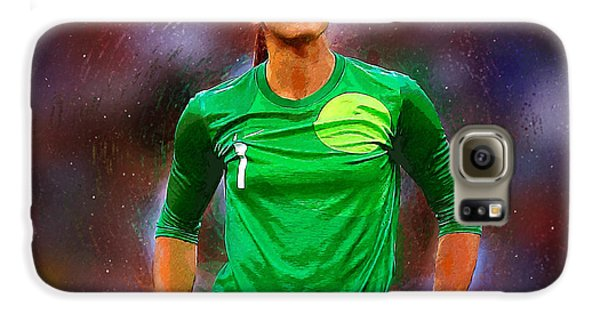 Hope Solo Galaxy S6 Case by Semih Yurdabak