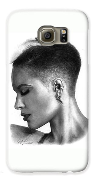 Halsey Drawing By Sofia Furniel Galaxy S6 Case