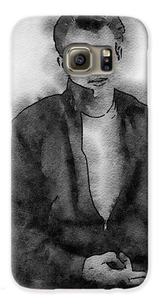 James Dean Galaxy S6 Case - James Dean by John Springfield