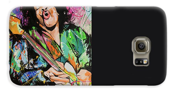 Jimi Hendrix Galaxy S6 Case by Richard Day
