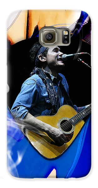 John Mayer Art Galaxy S6 Case by Marvin Blaine