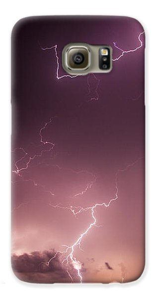 Nebraskasc Galaxy S6 Case - Late July Storm Chasing 057 by NebraskaSC