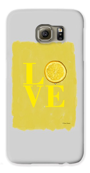 Lemon Galaxy S6 Case