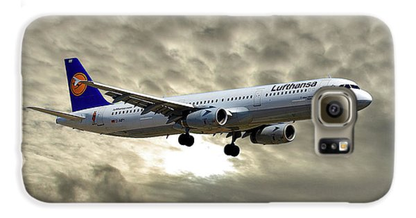 Jet Galaxy S6 Case - Lufthansa Airbus A321-131 by Smart Aviation