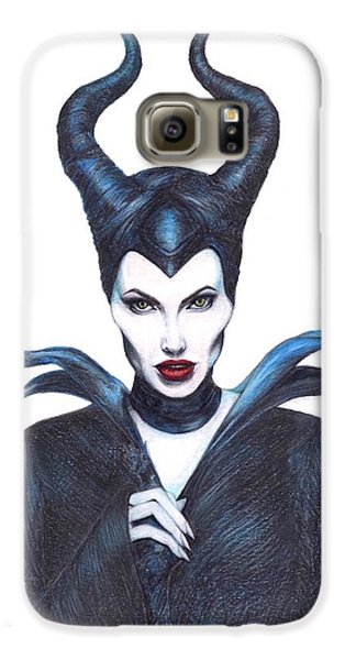 Maleficent  Once Upon A Dream Galaxy S6 Case by Kent Chua