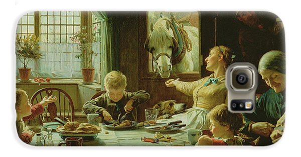 Boy George Galaxy S6 Case - One Of The Family by Frederick George Cotman