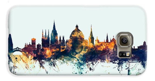 Oxford England Skyline Galaxy S6 Case by Michael Tompsett