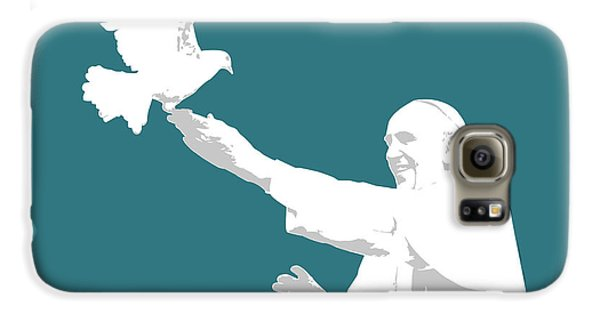 Pope Francis Galaxy S6 Case by Greg Joens