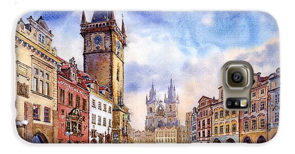 Town Galaxy S6 Case - Prague Old Town Square by Yuriy Shevchuk