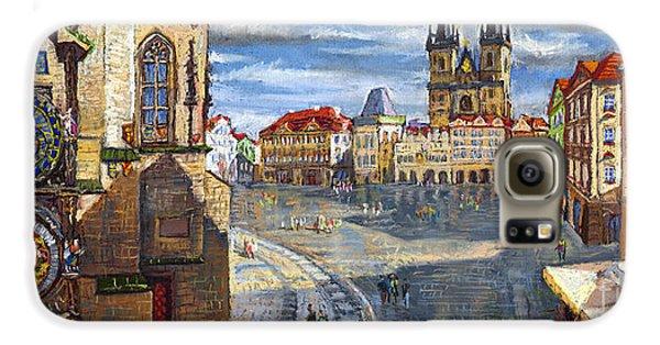 Town Galaxy S6 Case - Prague Old Town Squere by Yuriy Shevchuk