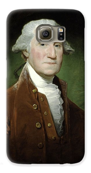 President George Washington Galaxy S6 Case by War Is Hell Store