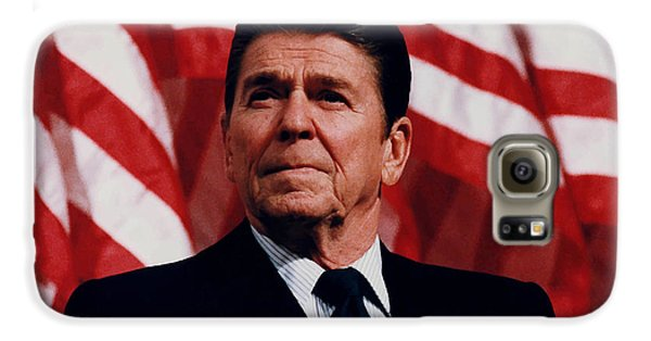 President Ronald Reagan Galaxy S6 Case by War Is Hell Store