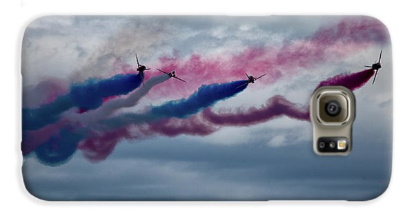 Airplanes Galaxy S6 Case - The Red Arrows by Smart Aviation