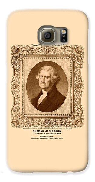 Thomas Jefferson Galaxy S6 Case - Thomas Jefferson by War Is Hell Store