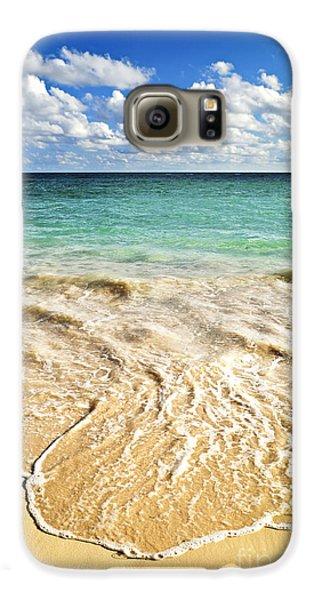 Tropical Beach  Galaxy S6 Case
