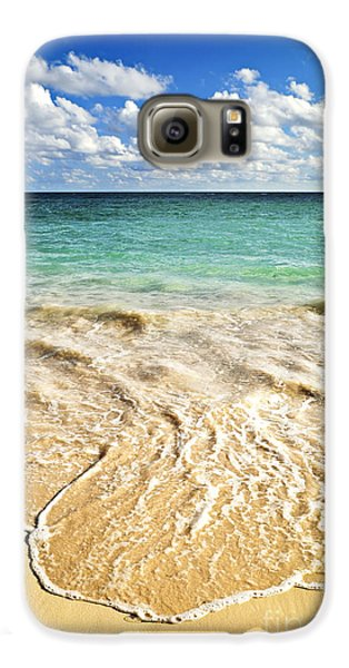 Tropical Beach  Galaxy S6 Case