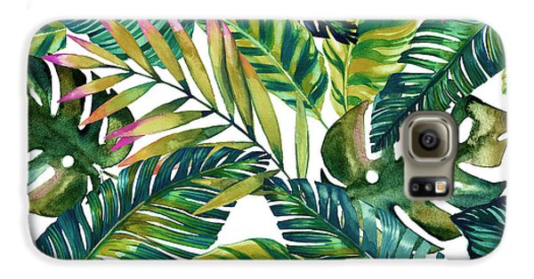 Flowers Galaxy S6 Case - Tropical  by Mark Ashkenazi