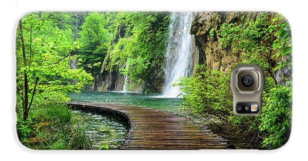 Walking Through Waterfalls - Plitvice Lakes National Park, Croatia Galaxy S6 Case
