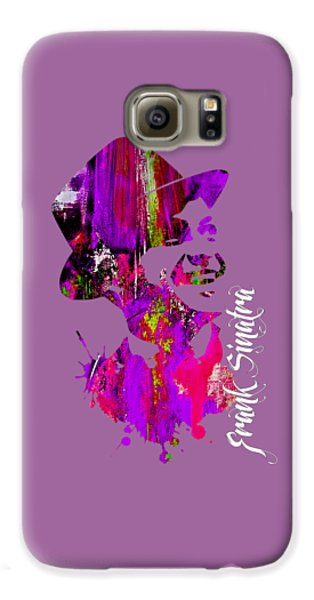 Frank Sinatra Collection Galaxy S6 Case by Marvin Blaine